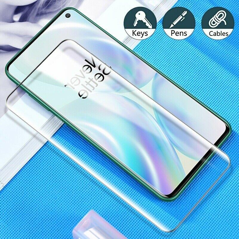OnePlus 8 Ultra HD Curved Tempered Glass