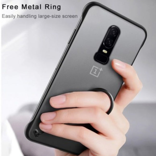 OnePlus 6  Luxury Frameless Transparent Case