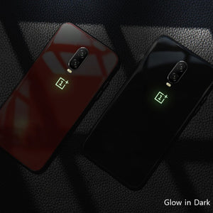 OnePlus 6T Radium Glow Light Illuminated Logo 3D Case