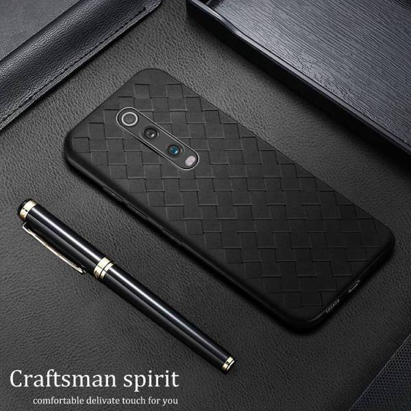 OnePlus 7 Pro Ultra-thin Grid Weaving Case