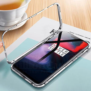 OnePlus 7 Pro Electronic Auto-Fit Magnetic Glass Case