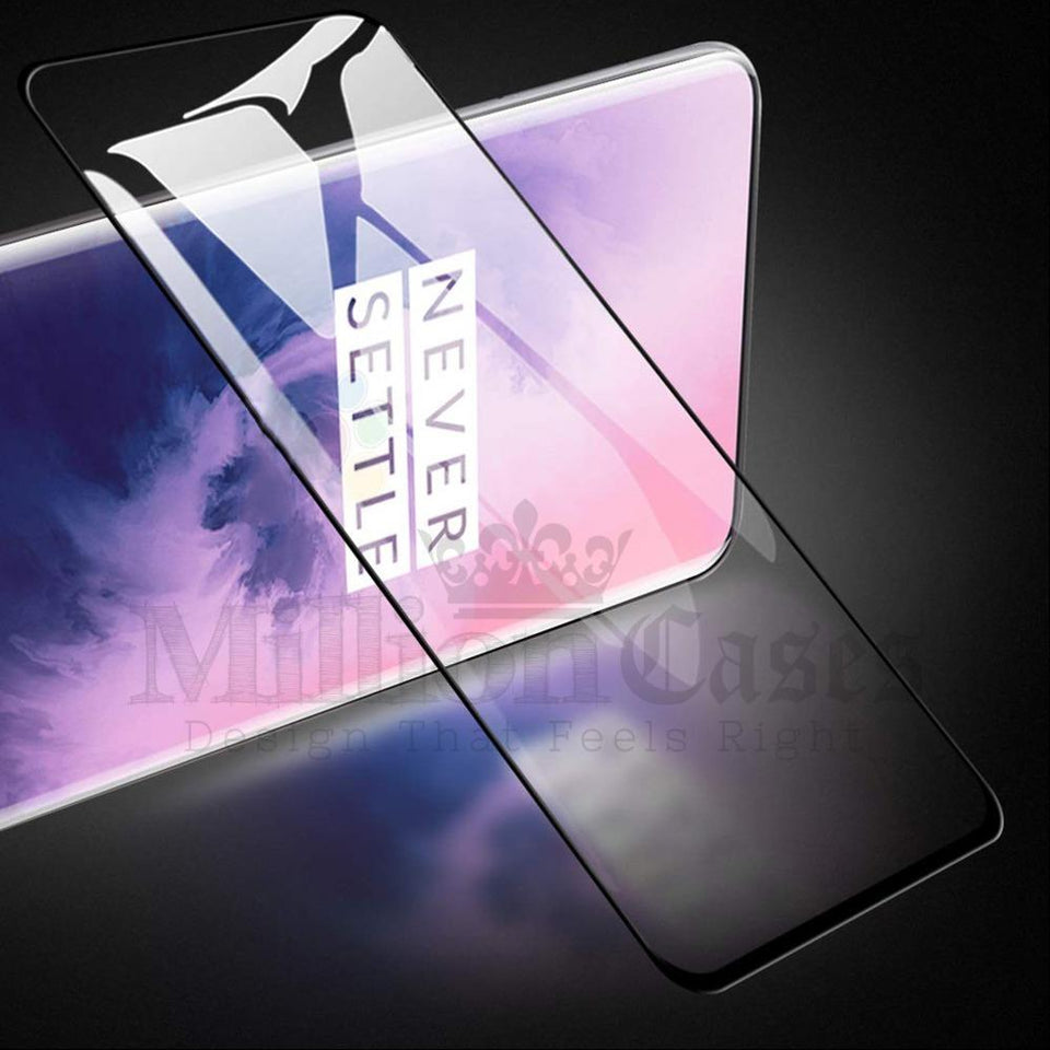 OnePlus 7T Pro Ultra HD Full Coverage Tempered Glass