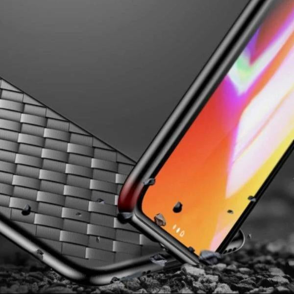 OnePlus 7T  Ultra-thin Grid Weaving Case