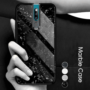 Oppo F11 Pro Dream Shell Series Textured Marble Case