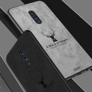 Oppo K3 Deer Pattern Inspirational Soft Case