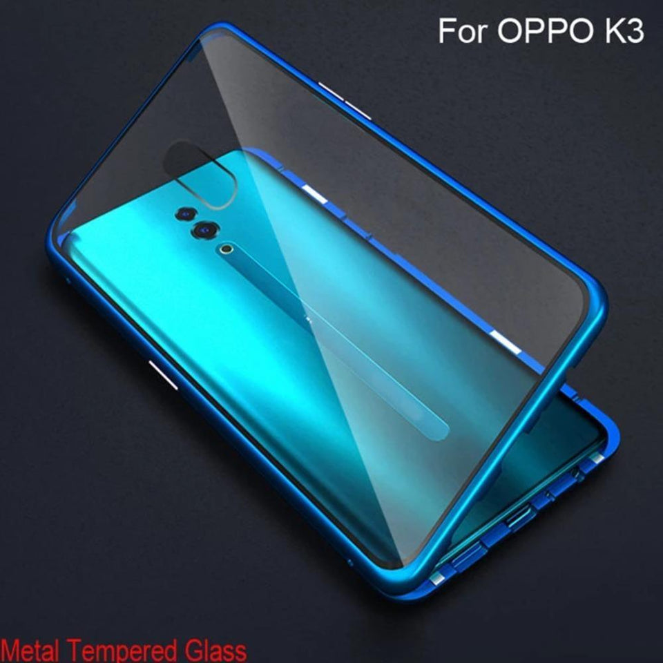 Oppo K3 Electronic Auto-Fit Magnetic Glass Case