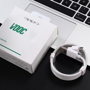 Original Oppo Vooc Power Adapter And Micro USB Cable