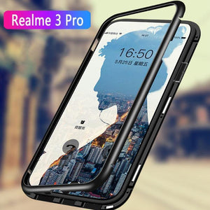 Oppo Realme 3 Pro Electronic Auto-Fit Magnetic Glass Case