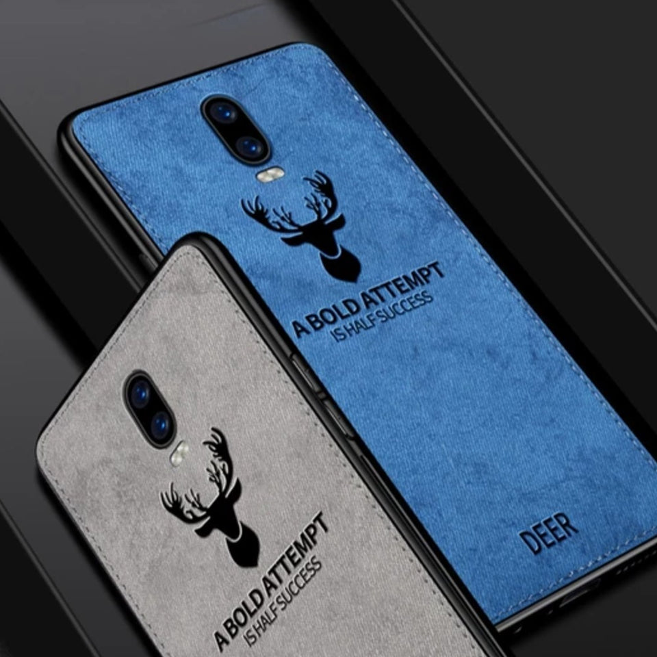 Oppo Realme X Deer Pattern Inspirational Soft Case