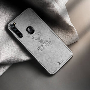 Redmi Note 8 Deer Pattern Inspirational Soft Case