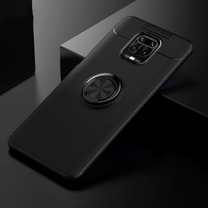 Redmi Note 9 Pro Metallic Ring Holder Matte Case