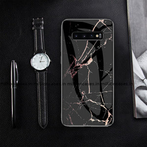 Galaxy S10 Classic Nature Elemental Textured Marble Case