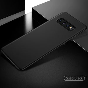 Galaxy S10 Plus Ultra-Thin Matte Paper Back Case