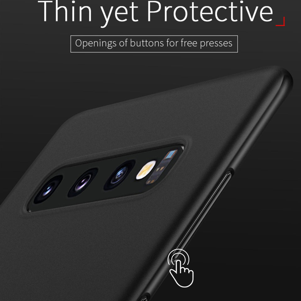 Galaxy S10 Ultra-Thin Matte Paper Back Case