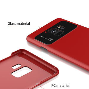 JOYROOM ® Galaxy A8 Plus Polarized Lens Glossy Edition Smooth Case