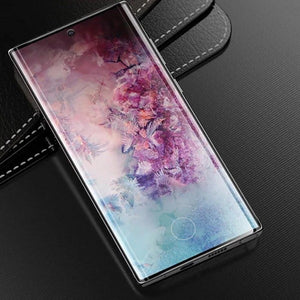 XO ® Galaxy Note 10 Plus Tempered Glass [With In-Display Fingerprint Sensor]