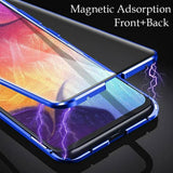 Galaxy S20 Plus (Front+Back) Protection Magnetic Fit Case