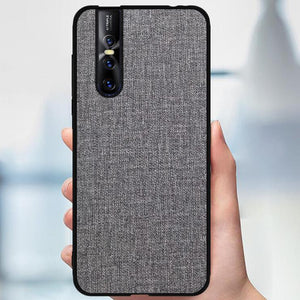 Vivo V15 Pro Fine Crafted Soft Fabric Case