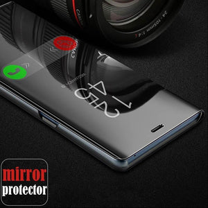 Vivo U20 Mirror Clear View Flip Case [Non Sensor Working]