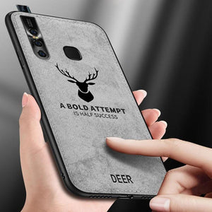 Vivo V15 Deer Pattern Inspirational Soft Case