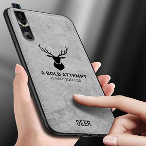 Vivo V15 Pro Deer Pattern Inspirational Soft Case