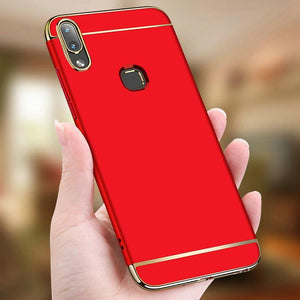 Galaxy M20 Luxury Electroplating 3 in 1 Matte Case