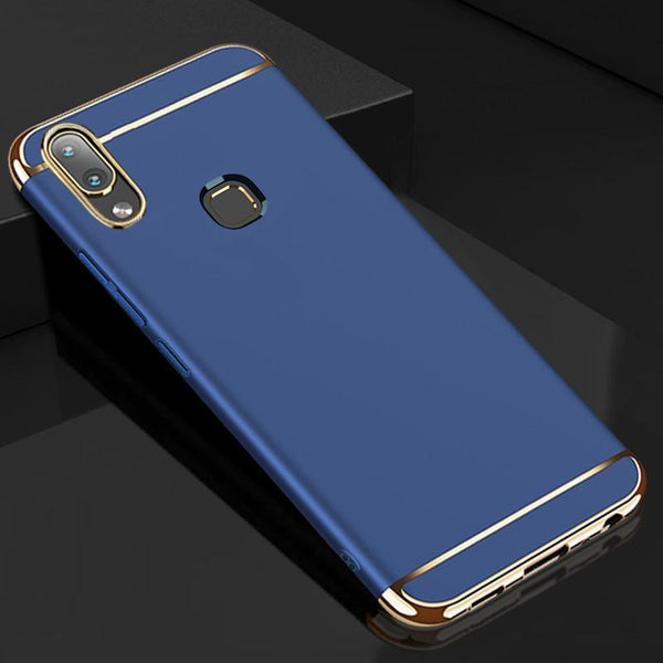 Honor 10 Lite Luxury Electroplating 3 in 1 Matte Case