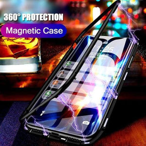 Vivo Y12  Electronic Auto-Fit Magnetic Glass Case