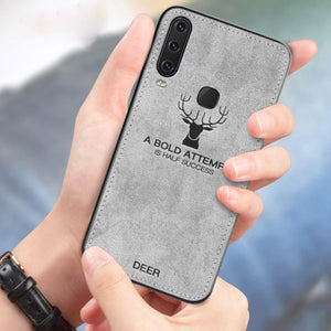 Vivo Y15 Deer Pattern Inspirational Soft Case
