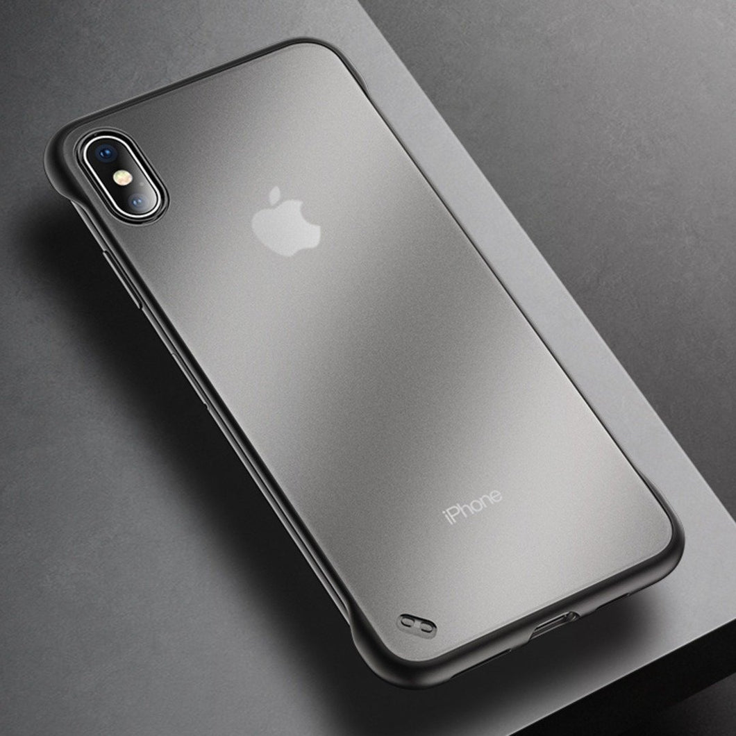iPhone XS Max Luxury Frameless Transparent Case