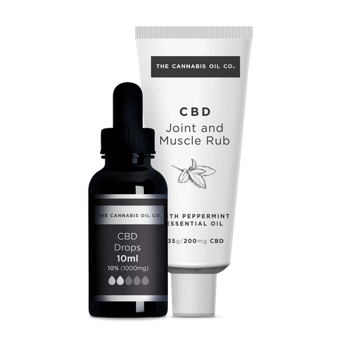 50% OFF our CBD Joint and Muscle Rub with our 1000mg CBD Oil