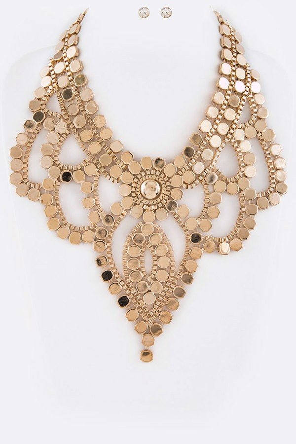 Iconic Statement Necklace Set  by LA Jewelry Plaza