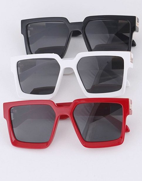 Square Frame Iconic Sunglasses Set