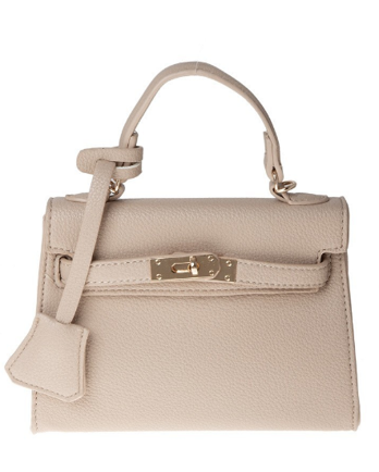 Soft Texture Faux Leather Mini Crossbody Bag