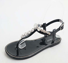 Thong Rhinestone Sandals