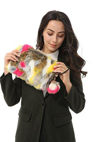 Fun Faux Fur Clutch