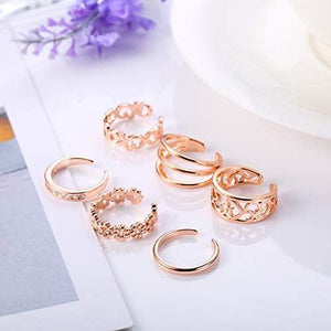 Toe Rings (Gold, Rose Gold, Silver) - Shop Ja'Kai