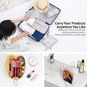 4Pcs Makeup Bags Set - Shop Ja'Kai
