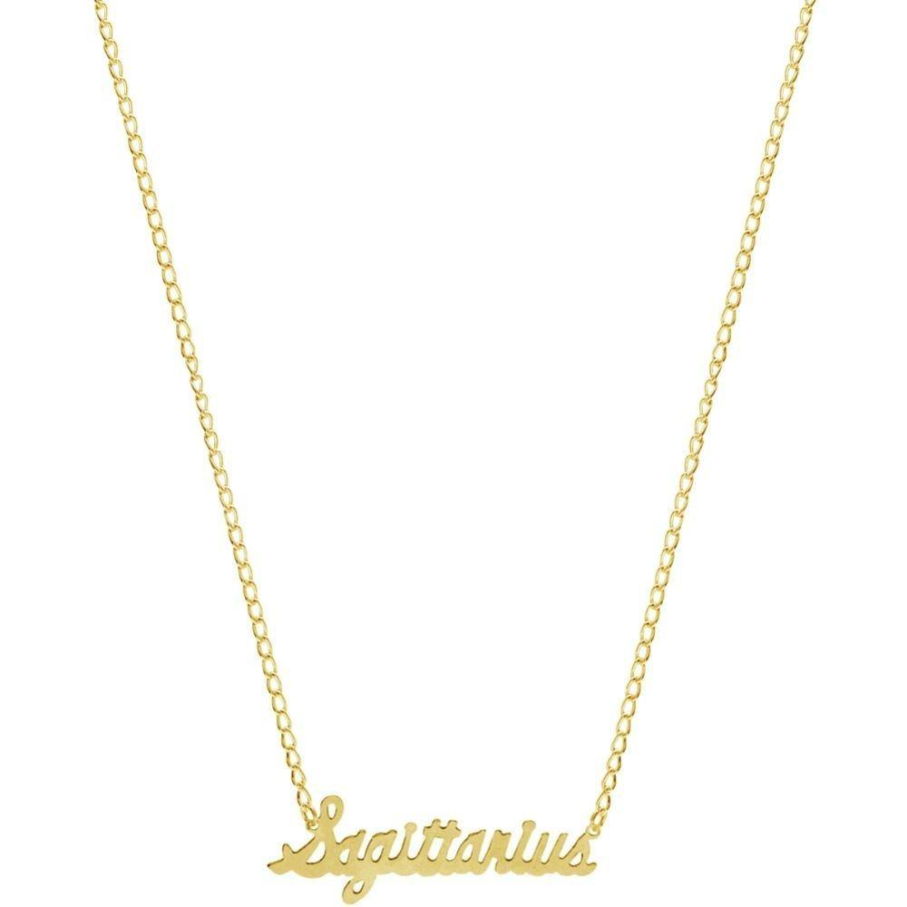 Zodiac Nameplate Necklace - Shop Ja'Kai