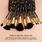 Goth Skull Makeup Brush Set,12Pieces - Shop Ja'Kai