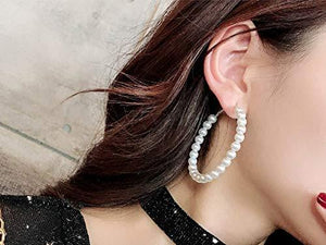 Pearl Hoop Earrings - Shop Ja'Kai