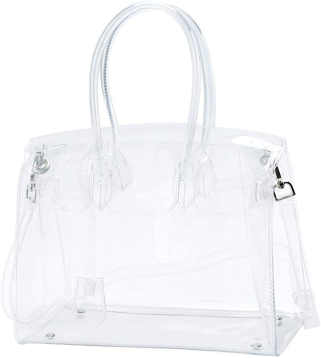 Clear Plastic PVC Handbag - Shop Ja'Kai