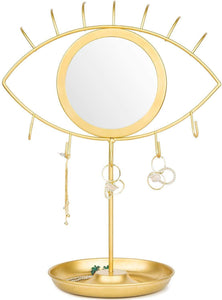 Evil Eye Vanity Mirror & Jewelry Tray