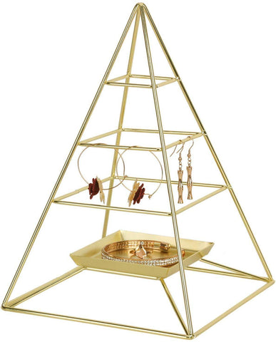 3 Tier Pyramid Hanging Jewelry Organizer