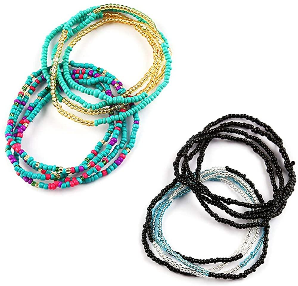 Colorful Waist Bead Chains Set (More colors) - Shop Ja'Kai