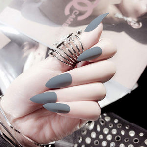 24Pcs Stiletto False Nails - Shop Ja'Kai
