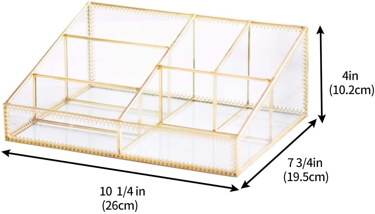 Gold Cosmetic Organizer - Shop Ja'Kai