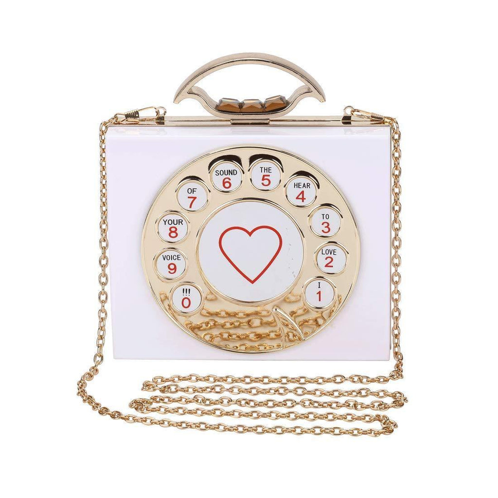 Acrylic Telephone Handbag - Shop Ja'Kai