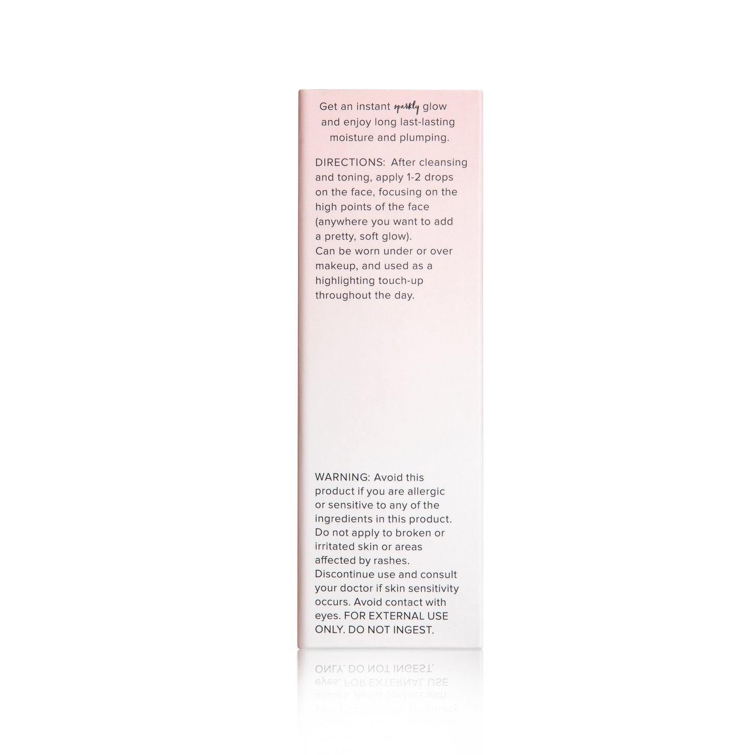 Illuminating Rose Gold Facial Serum - Shop Ja'Kai