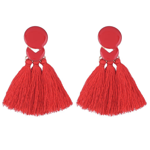 Epoxy Fringe Earrings